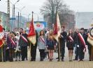 Delegacja I LO pod Pomnikiem Legionisty.