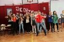 Impreza szkolna w I LO dla klas pierwszych.