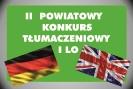 II Powiatowy Konkurs T�umaczeniowy