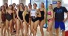 Mistrzowska drużyna I LO w sztafetach pływackich._6