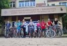 Udział szkolnej drużyny w rajdzie rowerowym._1